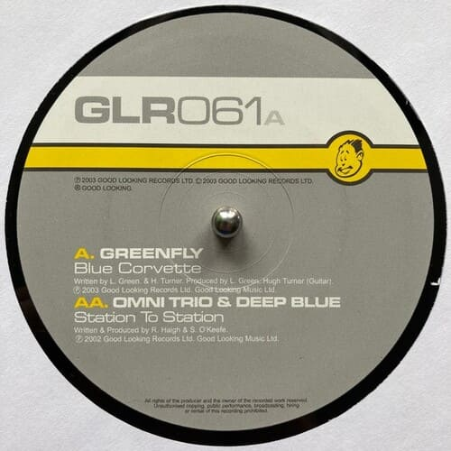 Download Greenfly / Omni Trio - Blue Corvette / Station To Station mp3