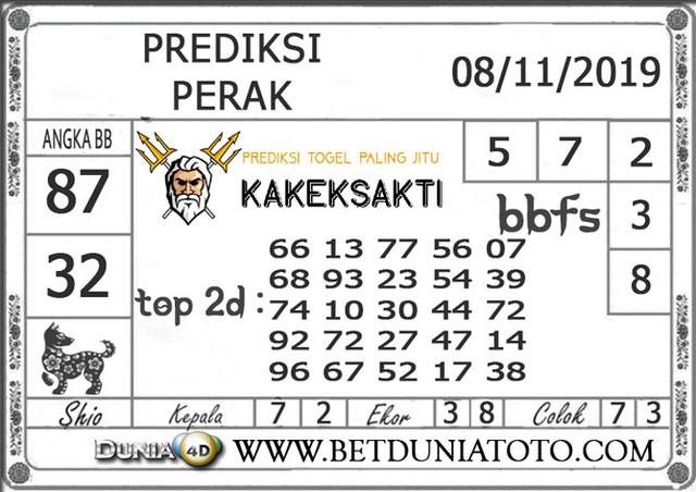 """Prediksi Togel """"PERAK"""" DUNIA4D 08 NOVEMBER 2019"""