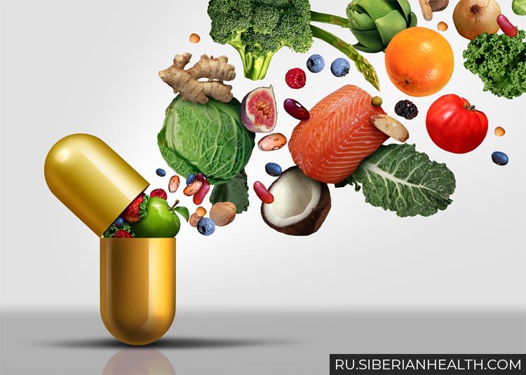 Витамины и продукты для здоровья