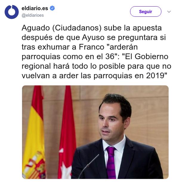 Ignacio Aguado todos sabemos que estás calvo Acosofacebook