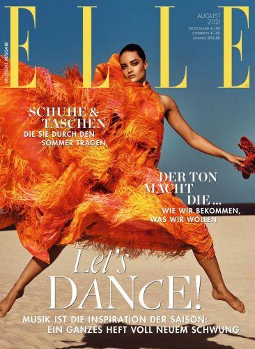 Cover: Elle Modemagazin No 08 August 2021
