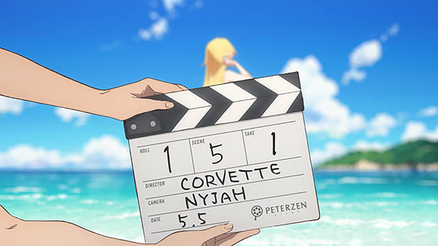 今年金馬影展將搶先曝光日本動畫導演平尾隆之改編同名漫畫的《酷愛電影的龐波小姐》! C018-1-r