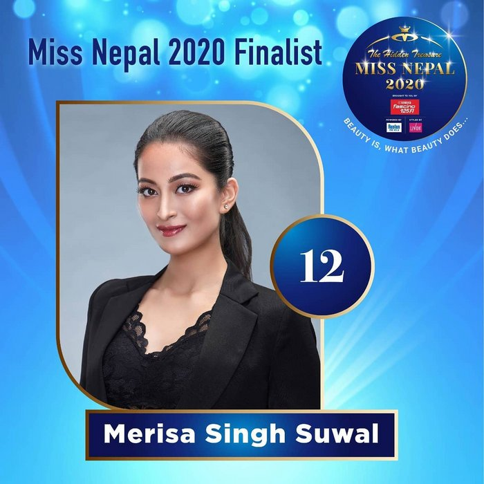 CANDIDATAS A MISS NEPAL 2020. FINAL 3 DE DICIEMBRE. 12