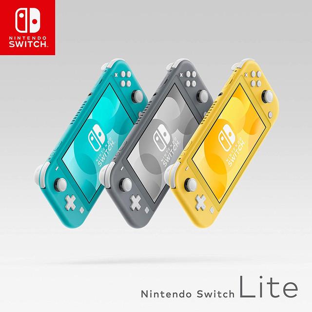 Nintendo Switch Lite grigio