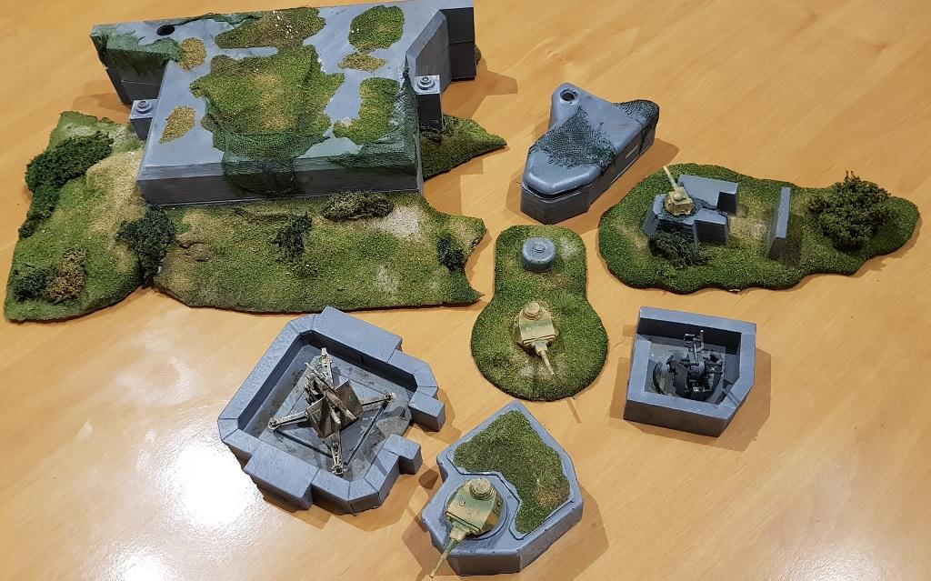 Bunker und Stellungen Bunker-1
