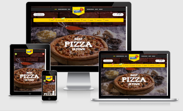 Proper homepage