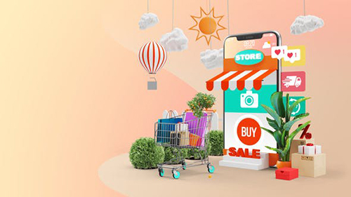 Mobile Online Shopping AE Project 28782295 - Project for After Effects (Videohive)