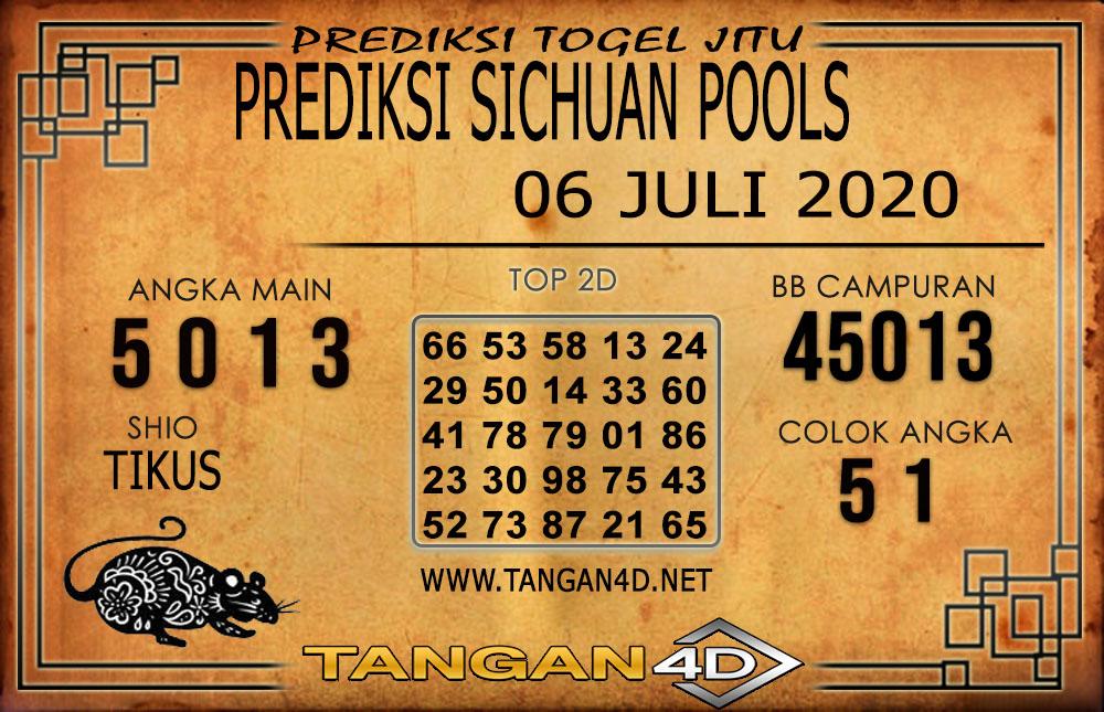 PREDIKSI TOGEL SICHUAN TANGAN4D 06 JULI 2020