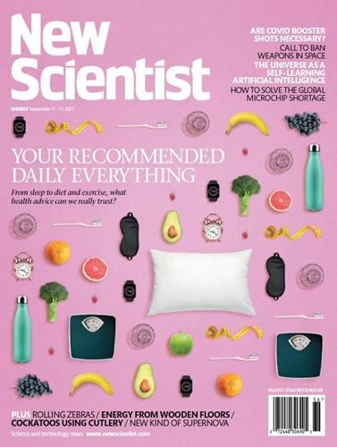 New Scientist. September 11, 2021