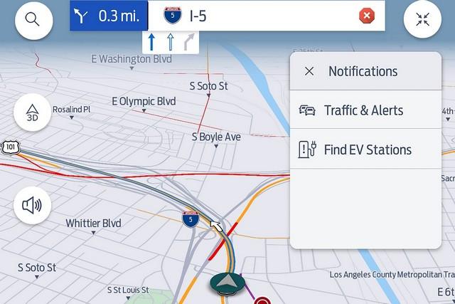 Prévisions de trafic : Ford va s'appuyer sur TomTom Global Traffic Service pour la nouvelle génération de son système embarqué SYNC Mach-E-Route