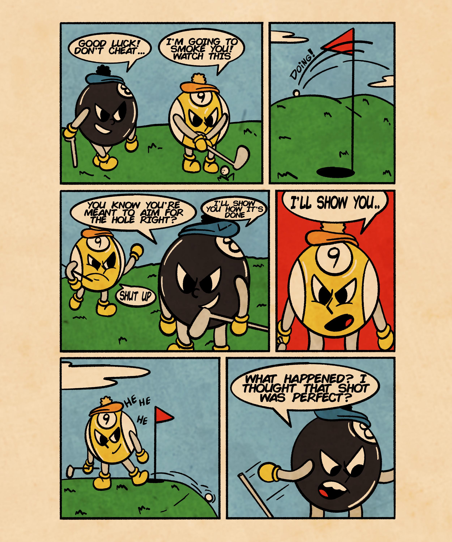Golf-Comic
