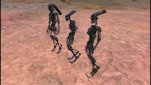 Robotics Limb Base Skeletons / Роботы: Основные скелеты!