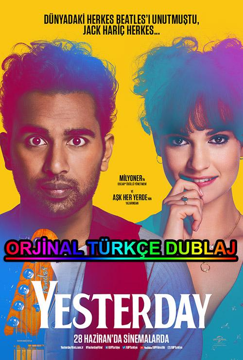 Yesterday | 2019 | BDRip | XviD | Türkçe Dublaj | m720p - m1080p | BluRay | Dual | TR-EN | Tek Link
