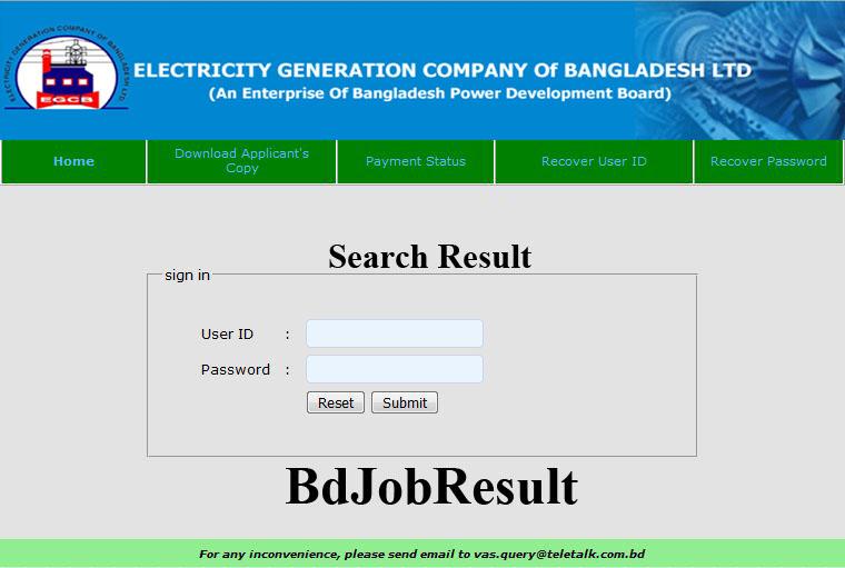 EGCB-Result