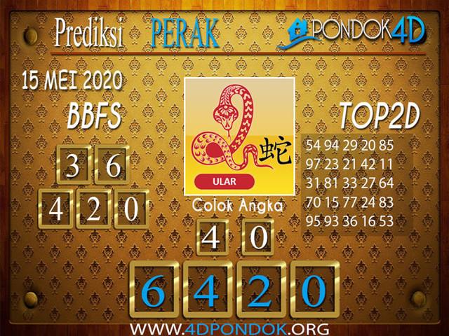 Prediksi Togel PERAK PONDOK4D 15 MEI 2020