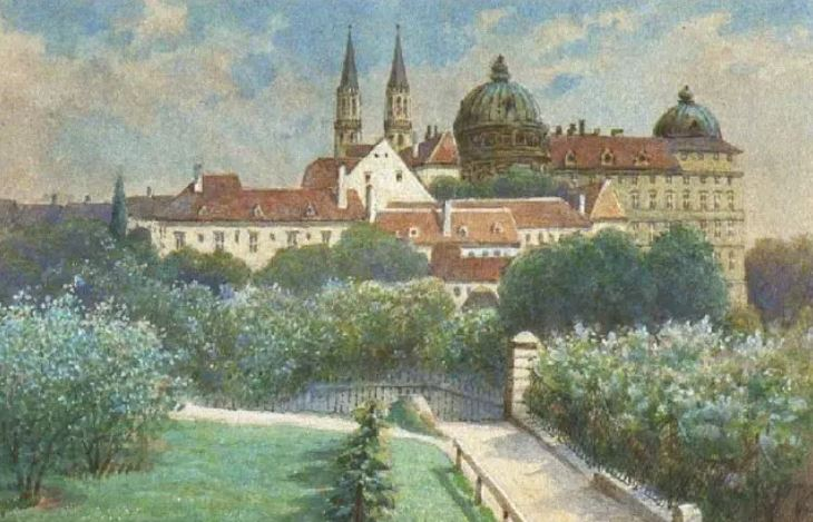 Painting by Adolf Hitler.