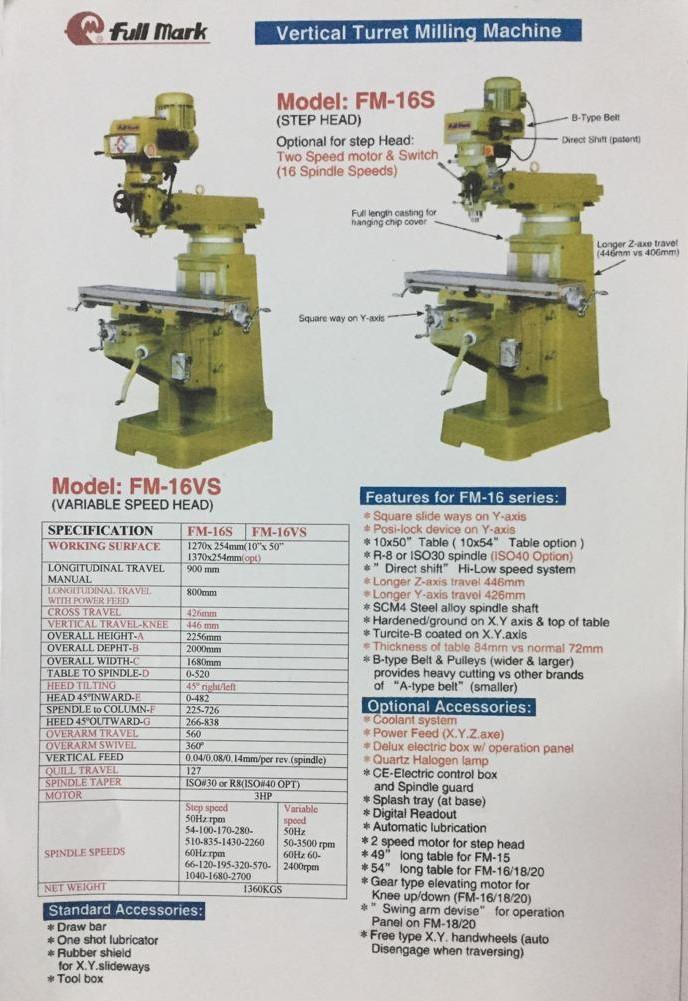 mesin milling