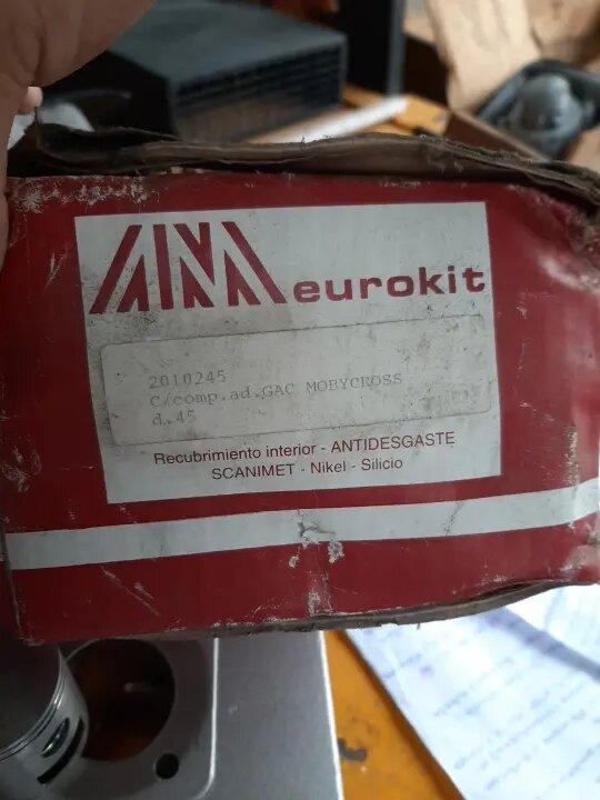 DUDA CILINDRO 74cc GAC NEW TT - MOTOR AV 7 I1293642412