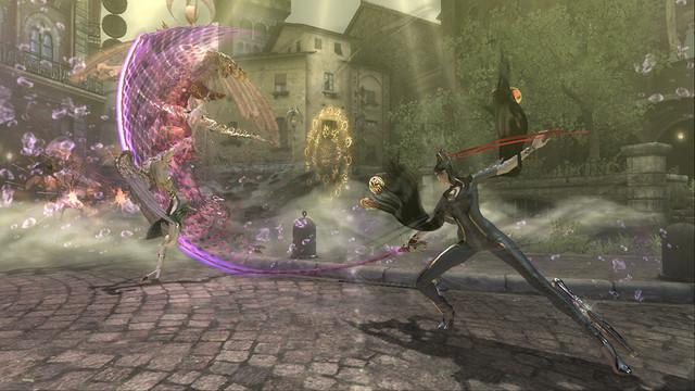 那份極致快感將降臨PlayStation®4! 『BAYONETTA&VANQUISH』第1彈遊戲情報公開! 『BAYONETTA』的故事及系統介紹!  16-weapon1