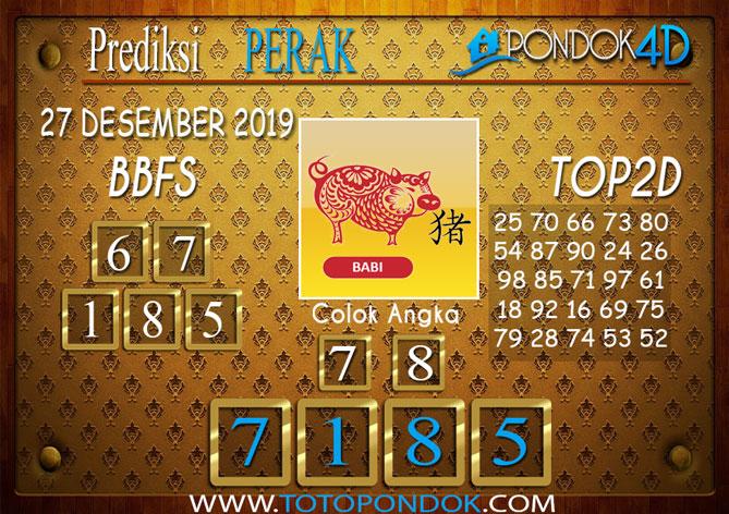 Prediksi Togel PERAK PONDOK4D 27 DESEMBER 2019