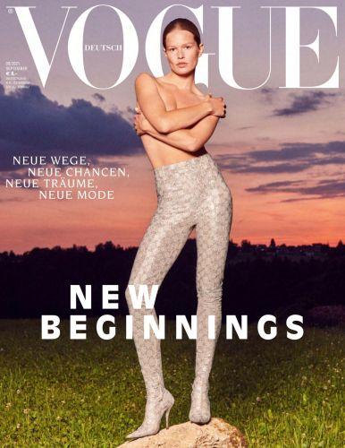 Cover: Vogue Modemagazin No 09 September 2021