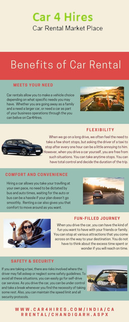 First of all, renting a car saves you time and save money. A rental car can help you business contacts or associates. So if you want car rental services. Car4Hires is the best option for car rental services.
