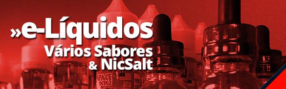 e-Líquidos Vários Sabores & NicSalt