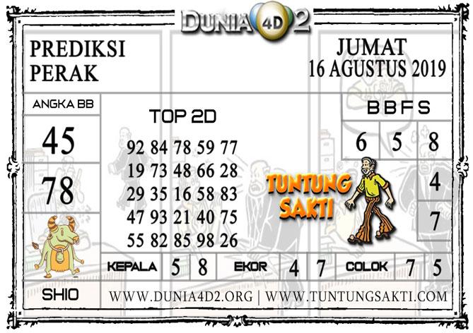 """Prediksi Togel """"PERAK"""" DUNIA4D2 16 AGUSTUS 2019"""