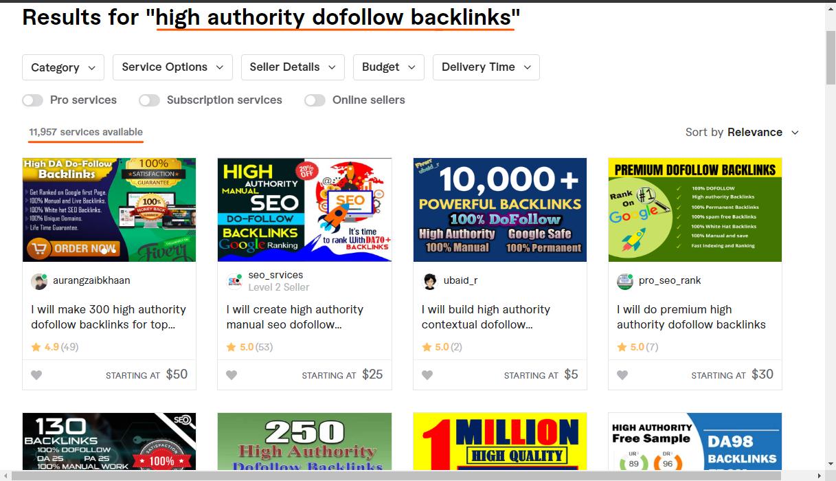 Fiverr-screenshot-for-link-sellers