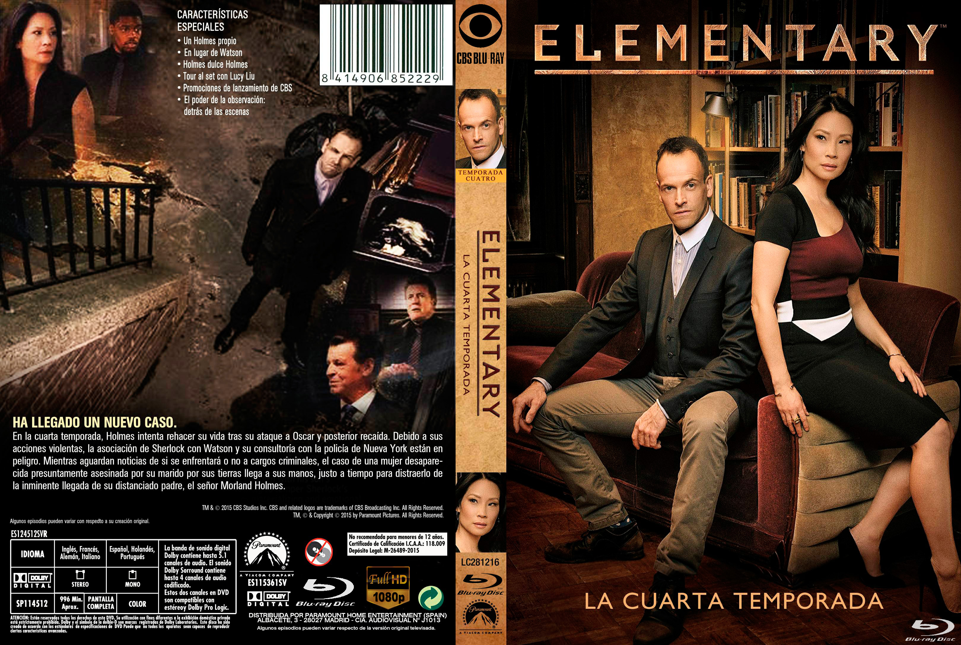 Elementary Season 4 1080p x264 Dual Latino MKV
