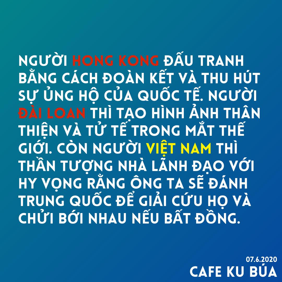 Đấu tranh – Người Hong Kong và Việt Nam