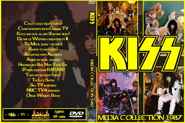 KISS - 1987 ~ Media Collection - Guitars101 - Guitar Forums
