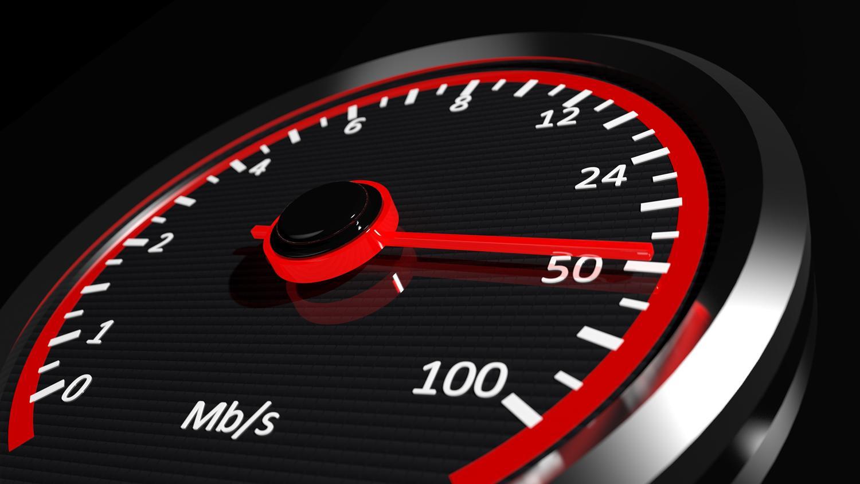 ¿Qué es la velocidad de bajada datos de internet?