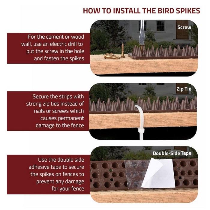 Brown-Fence-Wall-Spikes-Garden-Security-Intruder-Bird-Cat-Repellent-Burglar-5