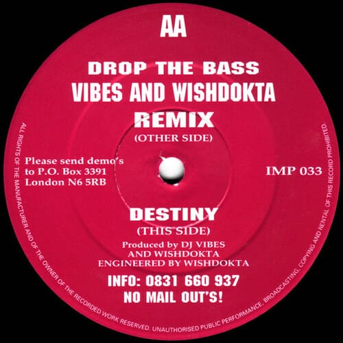 Download Vibes & Wishdokta - Drop The Bass / Destiny mp3