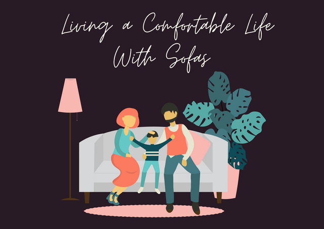 Living-a-Comfortable-Life-With-Sofas