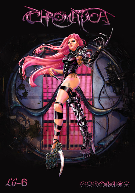 Lady-Gaga-Chromatica-Illustration-Chrome