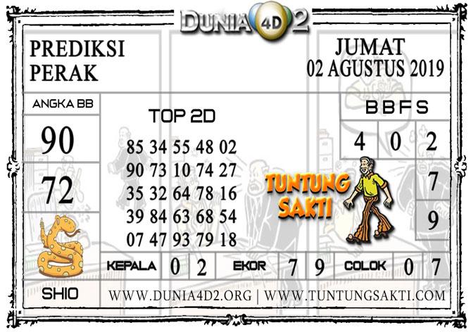 """Prediksi Togel """"PERAK"""" DUNIA4D2 02 AGUSTUS 2019"""