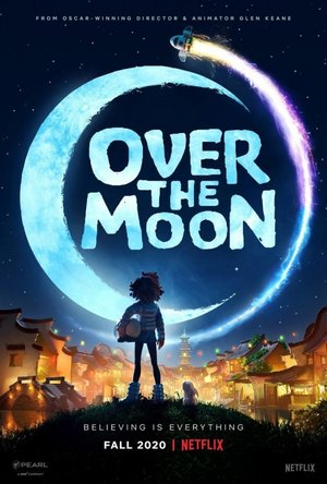 Over the Moon (2020) Hindi  Dual Audio 720p HDRip 550MB Watch Online