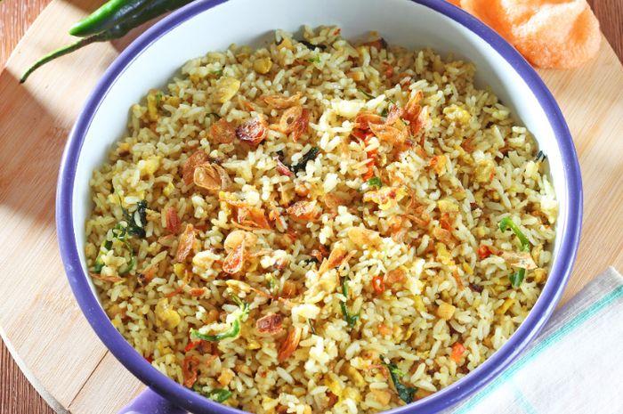 Resep nasi goreng kencur cocok untuk sahur