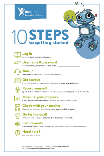 10 Steps for Logging into Imagine Language & Literacy
