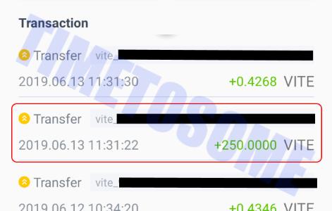 OPORTUNIDADE [Provado] Vite Wallet - Nova carteira com tokens Gratis - Android/iOS - (Actualizado em Junho de 2019) - Página 2 Screenshot-20190614-144348