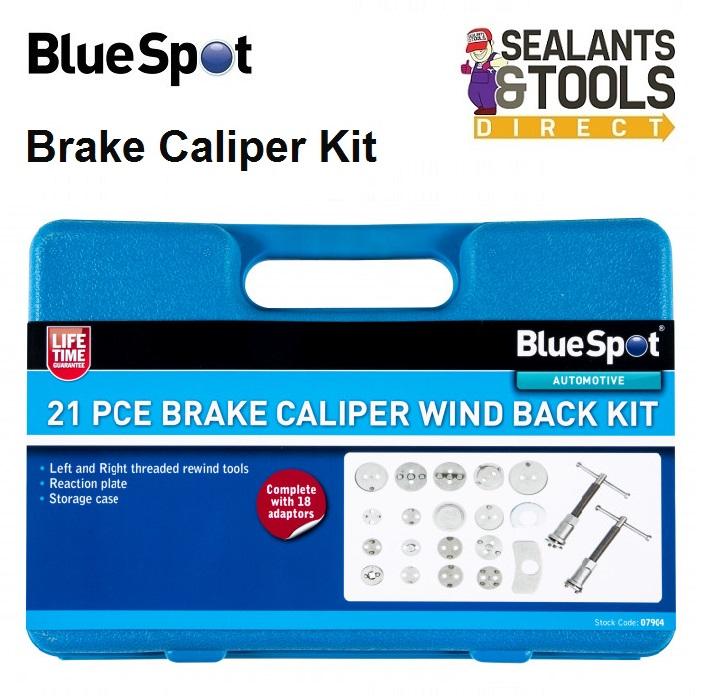 Blue Spot Tools Brake Caliper Wind Back Kit 07904