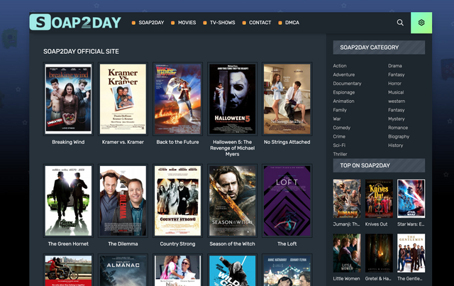 Soap2day Movies site