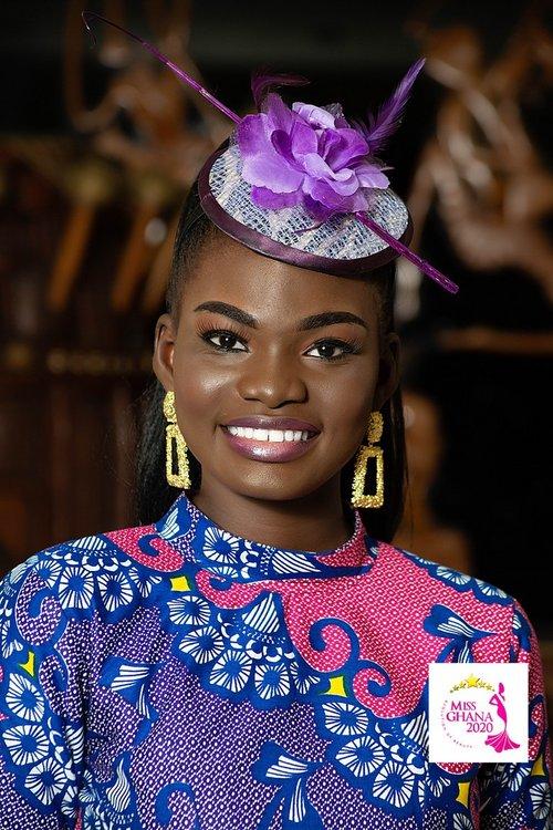 candidatas a miss ghana 2020. final: 21 de agosto. 6