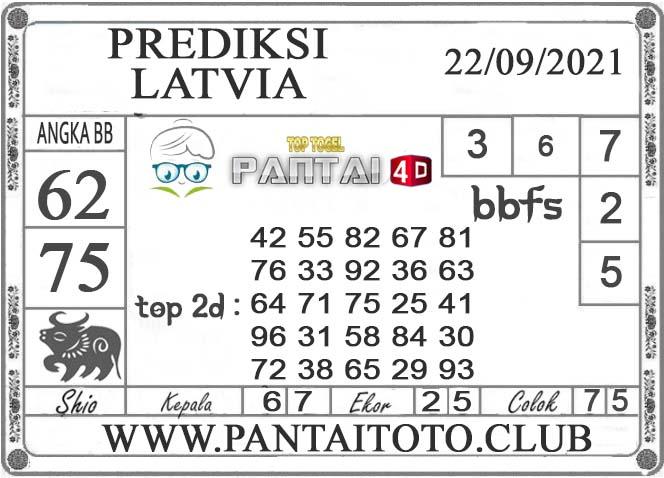 PREDIKSI TOGEL LATVIA PANTAI4D 22 SEPTEMBER 2021