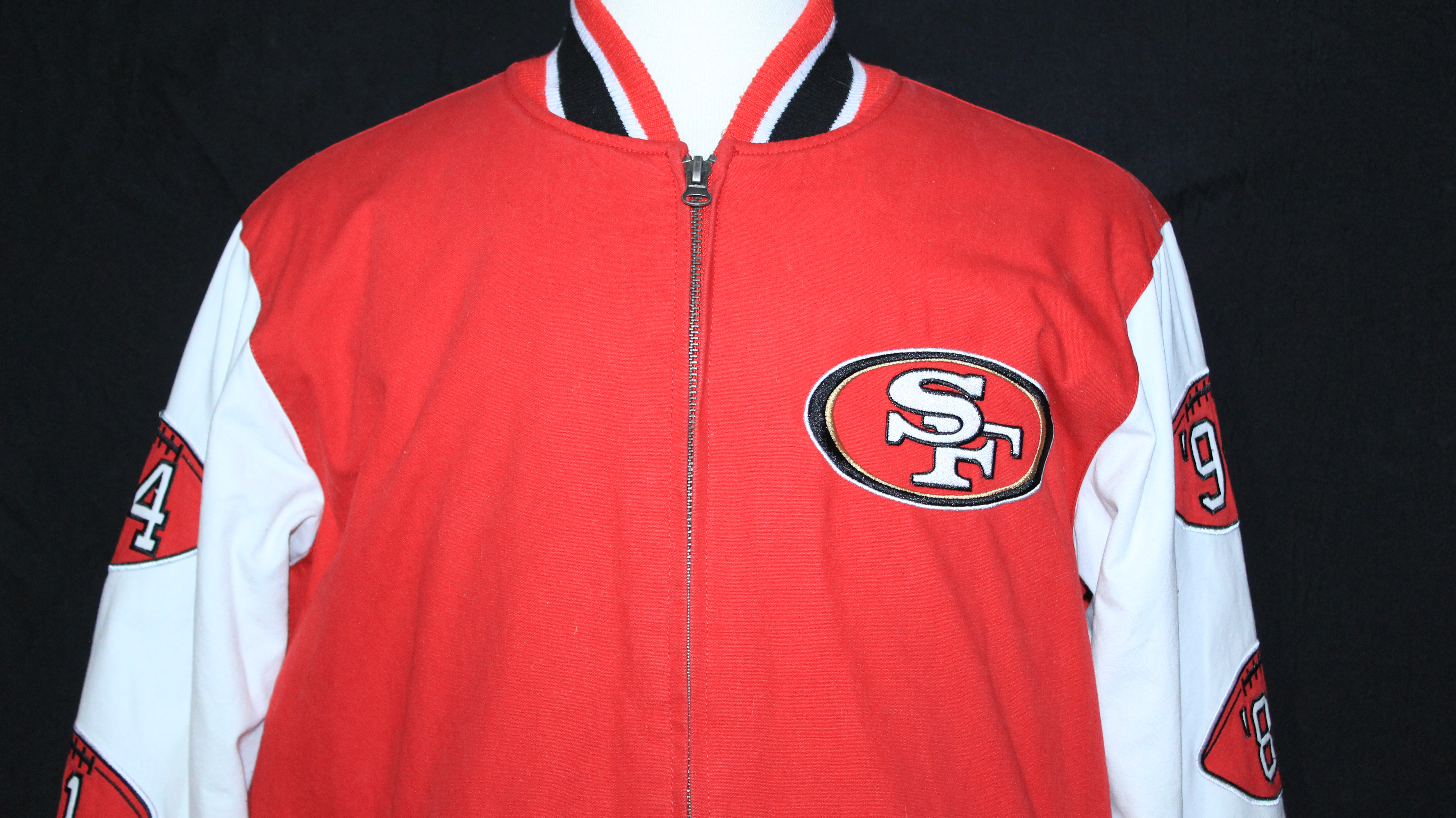 buy popular 80469 e8855 AMAZING San Francisco 49ers Super Bowl Champions Wool Jacket ...