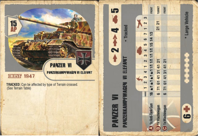 Tankhunter-Elefant