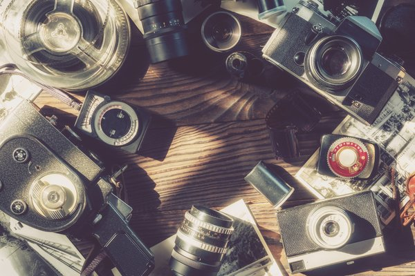 Old camcorders