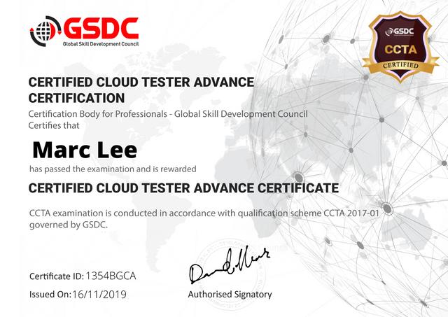 Cloud Tester Advance